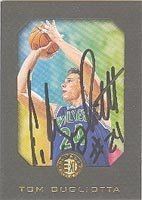 Tom Gugliotta Minnesota Timberwolves 1996 Skybox E-XL Autographed Hand Signed Trading... by Hall of Fame Memorabilia