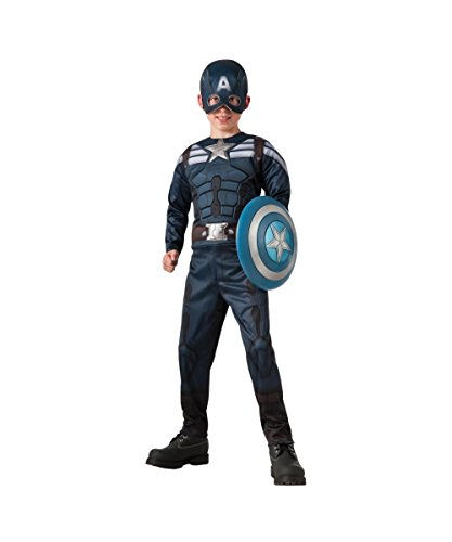 Retro Stealth Captain America Winter Soldier Reversible Boys Costume