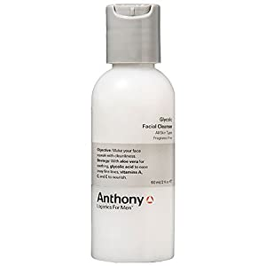 Anthony Logistics for Men Glycolic Cleanser, 2 Ounce from Anthony Logistics For Men
