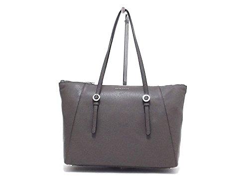Coccinelle borsa donna a spalla, Mel soft XG6-110501, pelle taupe A6102