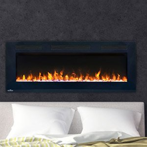 Napoleon NEFL50FH Allure Linear Wall Mount Electric Fireplace, 50