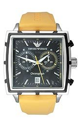 Emporio Armani Men's Chronograph Mango Strap Watch