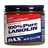 Dax Super Hair Conditioner Compounded With 100% Pure Lanolin, #37910 - 3.5 Oz