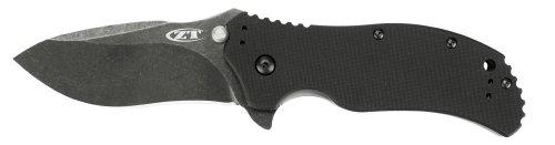 Zero Tolerance 0350BW Folder G10 Knife with Blackwash SpeedSafe