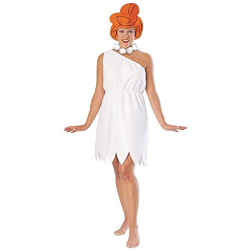 [Wilma Flintstone Costume - XX-Large - Dress Size 18-22] (Wilma Costume)