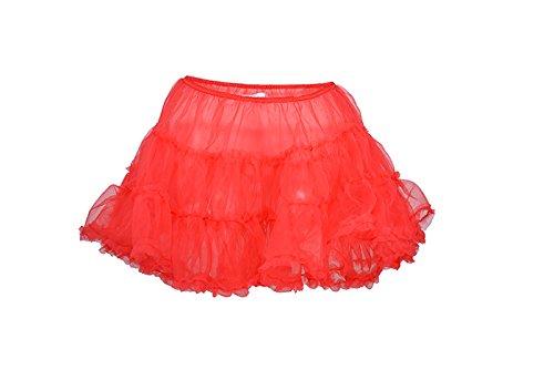 Edler Short 2-lagiger Vintage Mini Tüllrock / Petticoat Rockabilly kaufen
