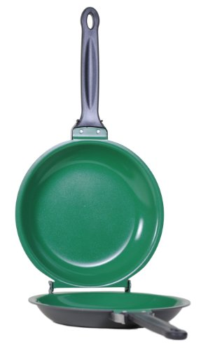Ceramic Green Non-Stick Flip Jack Cookware