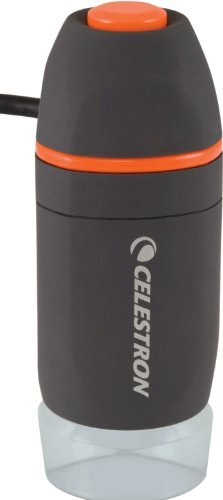 Celestron 44301 Mini Handheld Digital Microscope Portable Consumer Electronics Home Gadget