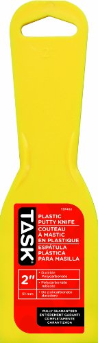 Task Tools T37402 2-Inch Putty Knife, Plastic