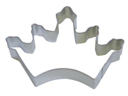 R&M Cookie Cutter, 5-Inch, Crown, Tinplated Steel (Crown Shaped Cookie Cutter compare prices)