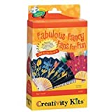 Creativity For Kids Creativity for Kids Mini Kit Fabulous Fancy Fans For Fun