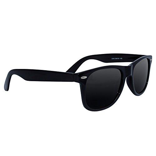 Polarized Wayfarer Sunglasses by EYE LOVE®, Lightweight, 100% UV Blocking