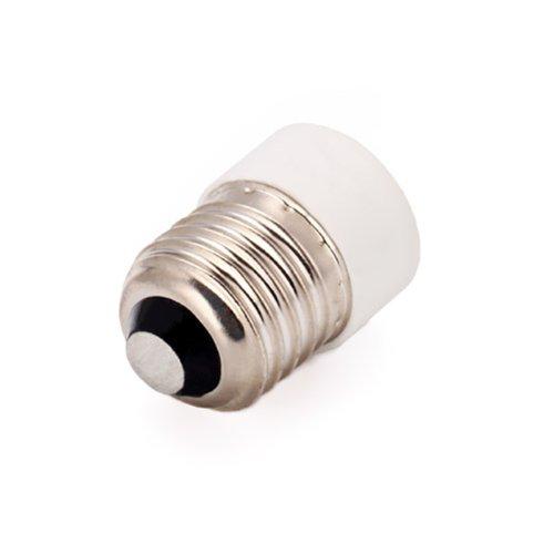 Hde Lamp Light Bulb Base Socket Adapter - Convert E14 Into E27