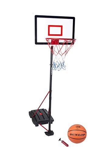 Dunlop 3 Piece Basketball with Portable Stand & Net with Basketball and Pump by Dunlop bestellen