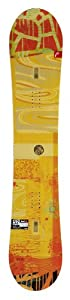 Head Women's She's Evil Flamba Snowboard - Gold, 148 cm