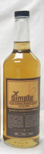 Holy Kakow Cafe Organic Simple Syrup - 750Ml