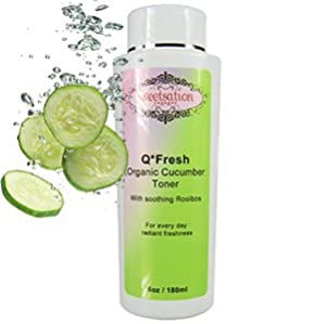 Q*Fresh Organic Cucumber Toner, 6oz from Sweetsation Therapy