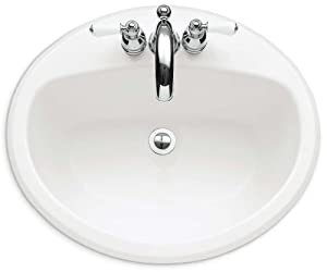 American Standard Affinity Americast Brand Engineered Material Countertop Sink For