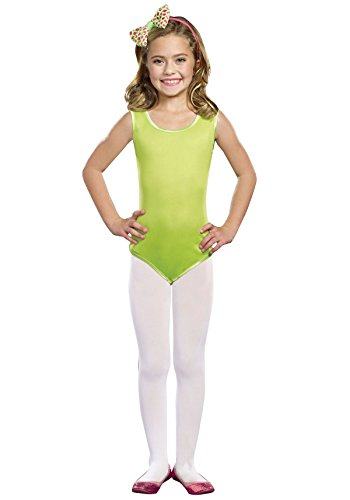 SugarSugar Leotard Lime Costume, Small - 1
