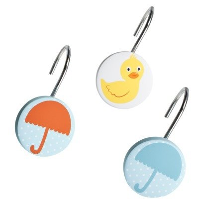 Circo Duck And Umbrella Shower Curtain Hooks
