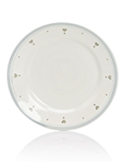 Country Heart Dinner Plate