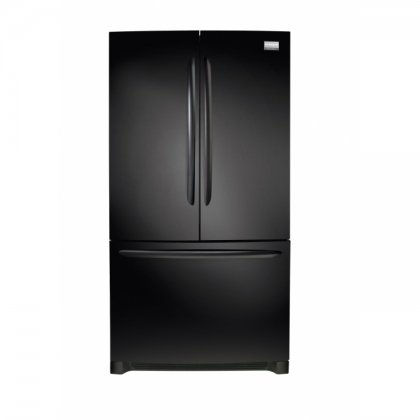 Gallery FGUN2642LE 25.8 Cubic Ft French Door Refrigerator, Ebony Black