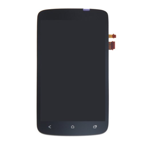 Front Housing Lcd Touch Glass Digitizer Screen Assembly For Htc One S