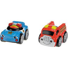 Fisher-Price Lil' Zoomers 2-pack - Rescue Racers
