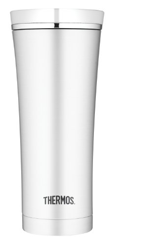 Thermos NS105WHTRI 16-Ounce Vacuum-Insulated Travel Tumbler