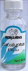 Eucalyptus Oil 1Oz (2 Bottles)
