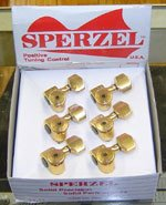 Hot Sale Sperzel 6 in-line Gold Plated Locking Machine Heads