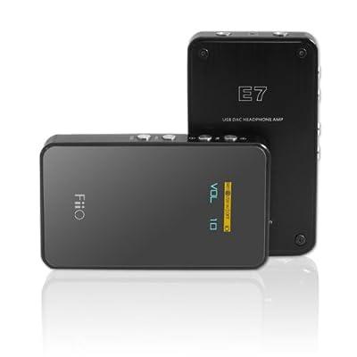 SP CLOSEOUT FiiO E7 USB DAC and Portable Headphone Amplifier (BlackOPEN BOX USED GOOD CONDITION at Sears.com