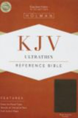KJV Ultrathin Reference Bible, Brown Genuine Cowhide PDF