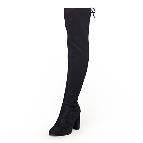 0127cc0d1 (click photo to check price). 2. SheSole Womens Faux Suede Thigh High Boots  Over The ...