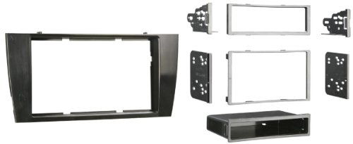 Metra 99-9501B Single or Double DIN Installation Dash Kit for Select 2001-2008 Jaguar X-Type and S-Type Vehicles