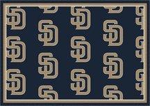 Milliken San Diego Padres 5 x 8 San Diego Padres Team Area Rug