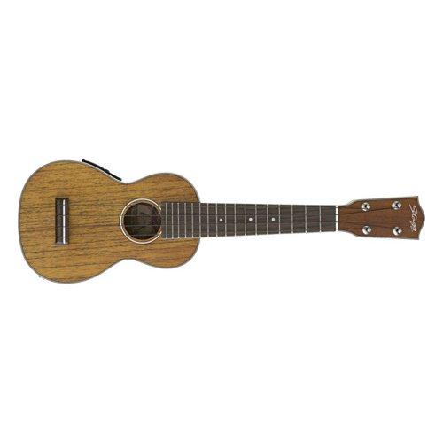 Stagg Mahogany US80SE Electro-Acoustic Soprano Ukulele