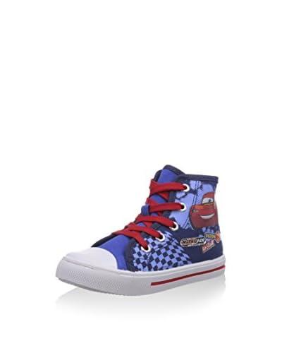 Cars Zapatillas abotinadas Azul / Rojo