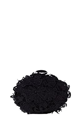 Lace mini bag, Black