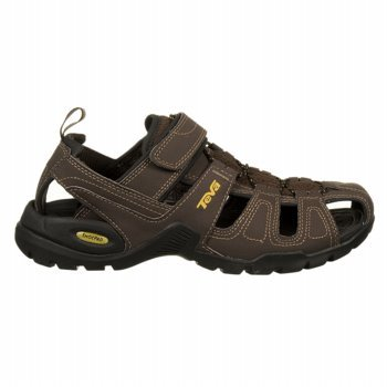 Teva Forebay Mens Sandals 11 Brown front-1009727
