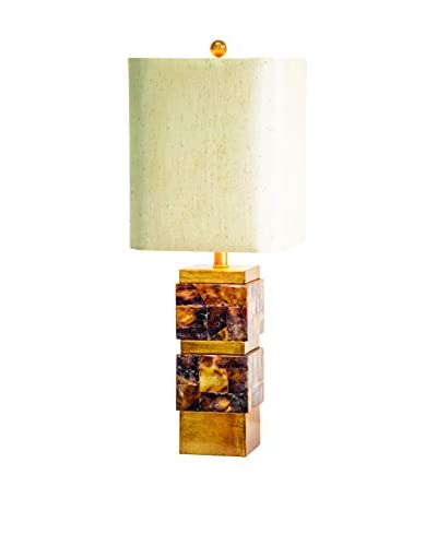Couture St. Armands Table Lamp, Natural/Gold