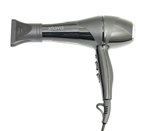 Allure 2200w Professional Ionic Ceramic Hair Dryer - Bring the Salon to Your Home with This Powerful and Precise Blow Dryer - 2 Speeds - 3 Heat Settings