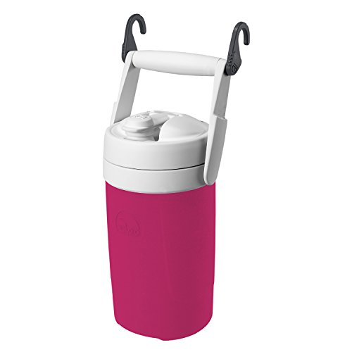 Igloo Products Corporation 00041670 Sport Cooler with Hooks, Hot Rod Pink, 1/2 gal (Igloo Cooler Pink compare prices)