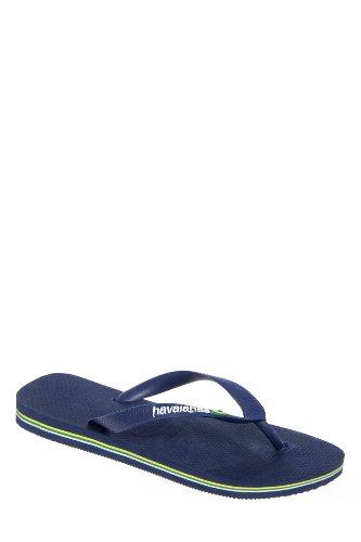 Havaianas Men's Brasil Logo Flip Flop Sandal