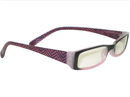 Reading Glasses - Herringbone Rose - Clere Vision (+2.00)