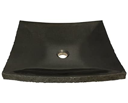 Polaris Sinks P558 Shanxi Black Granite Vessel Sink