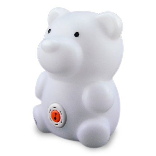 Twinkie's Animal Design Lullaby Multi Color Night Light Bear Buddy