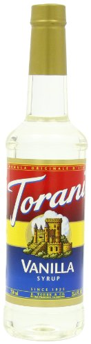 Torani Syrup, Vanilla, 25.4-Ounce Bottles (Pack of 3)