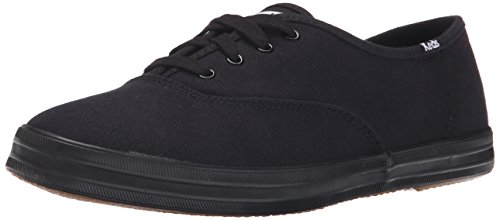 Keds - Champion  Text-Black/Black, Sneakers da donna, Negro (Black Vintage), 39.5