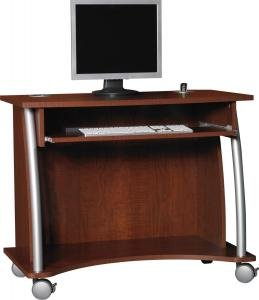 Buy Low Price Comfortable Computer Cart by Ameriwood Furniture (B002T2DEI2)